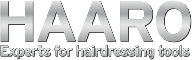 Logo HAARO Experts for hairdressing tools